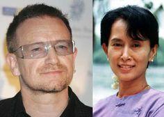 Bono to present Amnesty award to Aung San Suu Kyi in Dublin