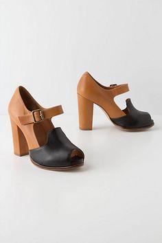 Black & Tan Heels #anthropologie @Jai Ellenberger
