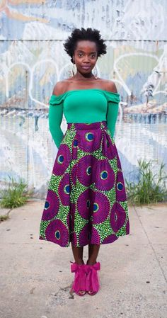 From all Africa fashion, Vlisco Dutch Wax Textile Co.  http://pinterest.com/vlisco/african-street-style-fashion/