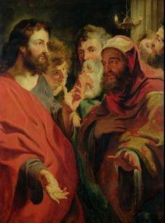 CHRIST INSTRUCTING NICODEMUS