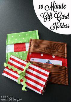 10 Minute Gift Card Holder Tutorial via @Marissa Hereso Hereso Fischer | Rae Gun Ramblings for @Stephanie Close Ellison Vanessa Craft #20craftydaysofchristmas