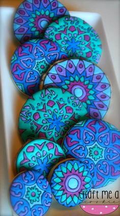 These are cookies?? I thought they were painted stones!