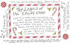 candy cane story