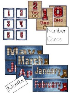 western theme classroom ideas | Western Theme Classroom Materials - Molly Jo - TeachersPayTeachers.com