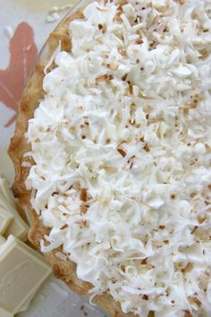 Award-winning Triple Threat Coconut Cream Pie < coconut cream pie is my very favorite kind of pie. may need to find an excuse to try this!