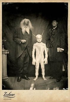 Creepy, historic, side show photos (and more).