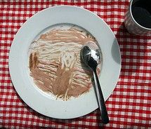 art recreat, food art, icecream, famous art