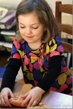 Exploring Patterns and Stamping with Play Dough - Mama Smiles - Joyful Parenting