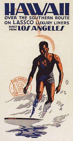 Vintage #surf poster