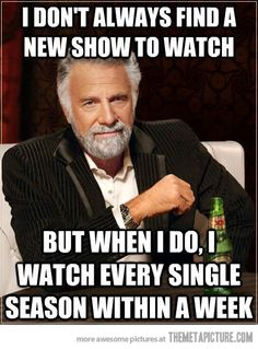 New TV shows…