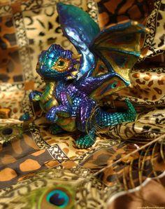 Wild Peacock Dragon by =mariecannabis