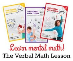 Win One Set of The Verbal Math Lesson (3 Books).