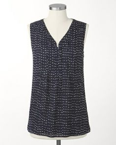 Caf� dots blouse