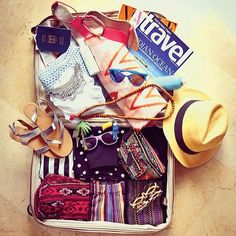 Packing list essentials for the sun and the sand! #SummerForever