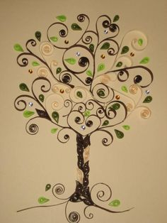 Quilling tree - Quilled Creations Quilling Gallery