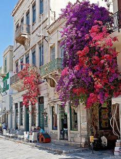Syros Island, Greece.