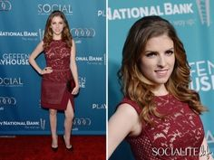 Anna Kendrick Wears It Well On The Red Carpet At The Geffen Annual Fundraiser