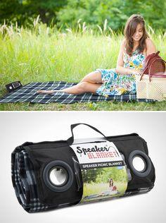 Speaker Blanket | 20 Perfect Picnic Blankets