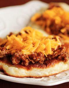 Cheeseburger Flatbread Melts. Delicious quick dinner idea!