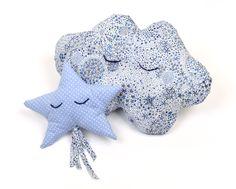 Kit céleste pour bébé : 4,60€ http://www.maboutiquemodesettravaux.com/patrons/patrons-deco/kit-celeste-pour-bebe.html