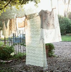 Today we are joined by Flowerona on the blog tour who has picked out some beautiful florals from the book, like this hanging washing - Couture Prairie - CICO Books
