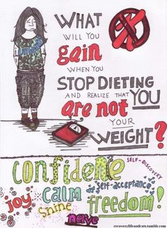 What will you gain? #embracefreespo #diet #bodyimage
