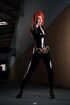 Black Widow - LucioleS - Sexy Cosplayers