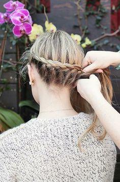Easy braid step-by-step you can wear three ways