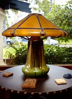 Fulper Pottery Lamp   Arts and Crafts   Bungalow