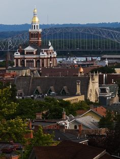 Dubuque, IA, a great Mississippi River town.