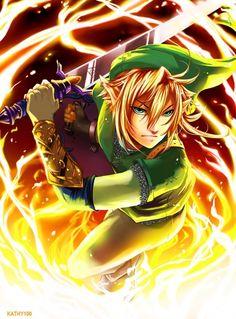 Link - the-legend-of-zelda Fan Art #Nintendo