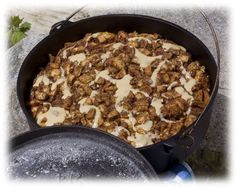 Dutch Oven Caramel Apple Pie - Six Sisters' Stuff: 25 Delicious Camping Recipes