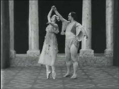 early ballet films: Geltzer & Tikhomirov, husband and wife in the Bolshoi Ballet – Pas de Deux