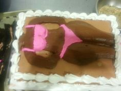A guy cake!