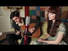 cover of moon river {from breakfast at tiffanys} by the honey trees. so beautiful.
