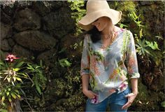 Cili Floral Tunic at teacollection.com