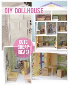 The Busy Budgeting Mama: DIY DOLLHOUSE - My Craigslist Before & After