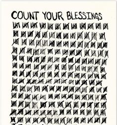 Blessings Giclée Print by Matthew Allen. Daily reminder to be grateful for all that I have.