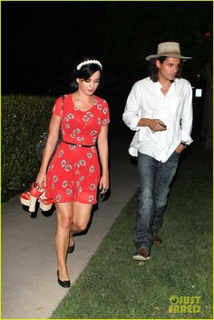 Katy Perry & John Mayer: House Party Pair!