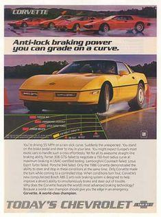Chevy Corvette  (1986) chevi corvett