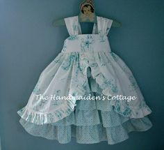 Cape Anne Princesssize 6 to 12 months by HandmaidensCottage, $55.00