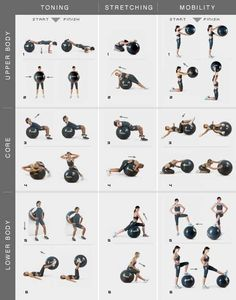 Exercise ball inspiration