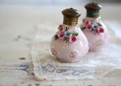 Vintage Norcrest Floral Salt and Pepper Shakers