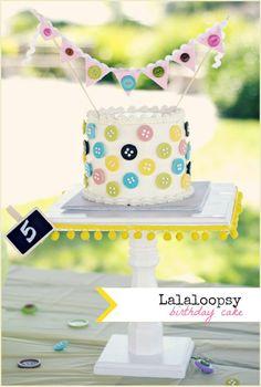 DIY Lalaloopsy Cake