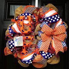 florida gator wreath, uf gator, craft, orang, florida gator burlap wreath, florida gators wreath, chevron florida, blues, burlap wreaths with letters