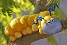 Sock Doll Caterpillar Craft From www.daniellesplace.com