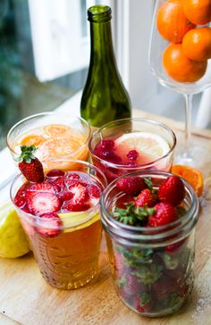 Get ready for some Memorial Day lounging by whipping up a batch of fruity agua frescas.