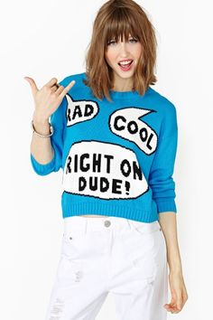 Say What Knit by #NastyGal