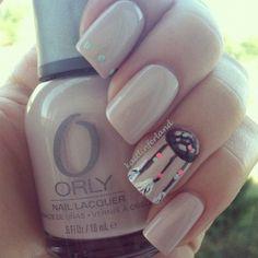 Dream catcher nails <3