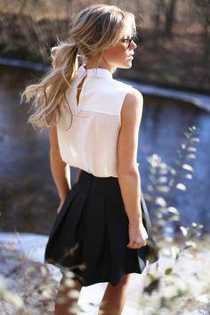 Fashion Inspiration | Black  White Style - dustjacket attic